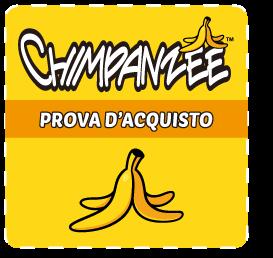 CHIMPANZEE_TREDIMALS_MINACCE STRISCIANTI_PROVA D'ACQUISTO